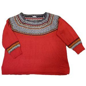 Maurices Acrylic Red Sweater - Size 3X